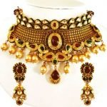 Traditional Gold Choker Necklace 2