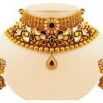 Traditional Gold Choker Necklace 3
