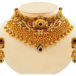 Traditional Gold Choker Necklace 5