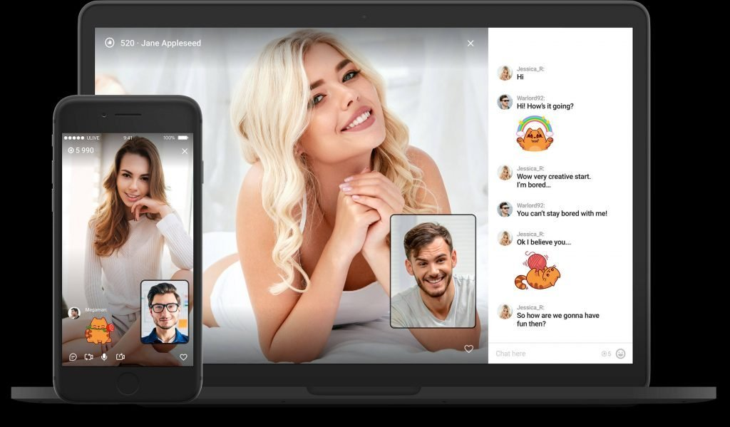 video chat feature